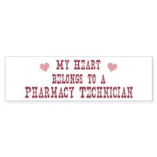 Belongs to Pharmacy Technicia Bumper Bumper Sticker