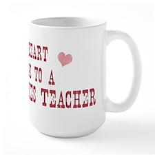 Belongs to Peace Studies Teac Mug