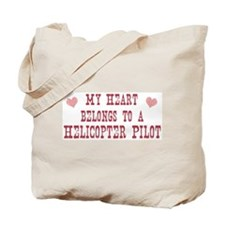 Belongs to Helicopter Pilot Tote Bag