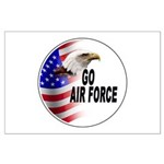 Go Air Force Large Poster