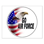 Go Air Force Small Poster