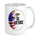 Go Air Force Large Mug