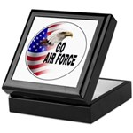 Go Air Force Keepsake Box