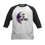 Go Air Force Kids Baseball Jersey