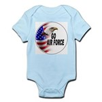 Go Air Force Infant Creeper