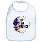 Go Air Force Bib