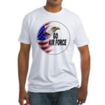 Go Air Force Fitted T-Shirt