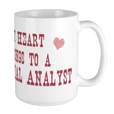 Belongs to Financial Analyst Mug