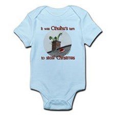 Cthulhu stole christmas Infant Bodysuit