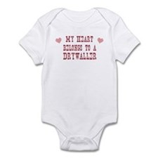 Belongs to Drywaller Infant Bodysuit