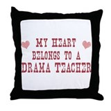 Belongs to Dredge Operator Throw Pillow