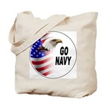 Go Navy Tote Bag