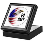 Go Navy Keepsake Box