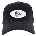 Go Navy Black Cap