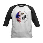 Go Navy Kids Baseball Jersey