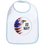 Go Navy Bib