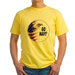 Go Navy Yellow T-Shirt