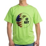 Go Navy Green T-Shirt
