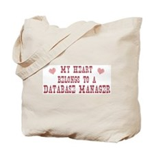 Belongs to Database Manager Tote Bag