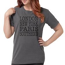 Zen Tree Women's Plus Size V-Neck Dark T-Shirt