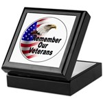 Remember Our Veterans Keepsake Box