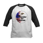 Remember Our Veterans Kids Baseball Jersey