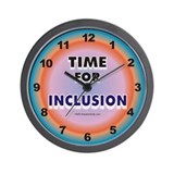Funny Inclusion Wall Clock