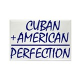 Cuban American heritage Rectangle Magnet