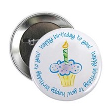 First Birthday! Button