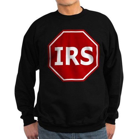 Stop The IRS Sweatshirt (dark)