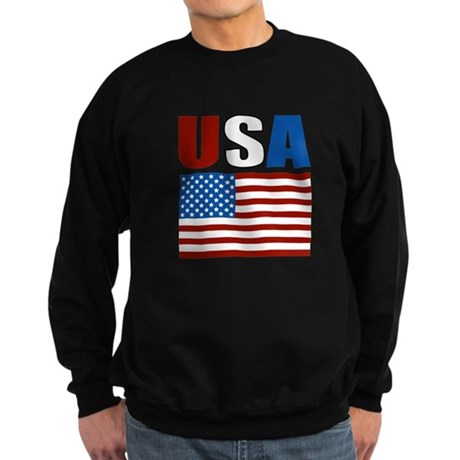Patriotic USA Sweatshirt (dark)
