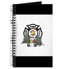 Firefighter Christmas Journal