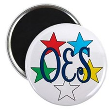 "Eastern Star Circle of Stars 2.25"" Magnet (10 pack"