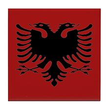 Funny Shqiptar Tile Coaster
