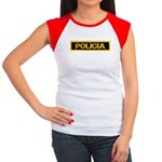 Policia Women's Cap Sleeve T-Shirt