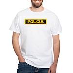 Policia White T-Shirt