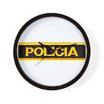 Policia Wall Clock