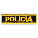 Policia Bumper Sticker (50 pk)