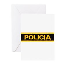 Policia Greeting Cards (Pk of 20)