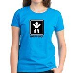 Party Over Women's Dark T-Shirt