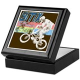 Worn 1986 BMX Champs Keepsake Box