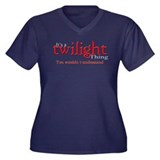 It's a twilight thing Women's Plus Size V-Neck Dar