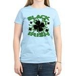 Black Shamrocks Black Irish Women's Light T-Shirt