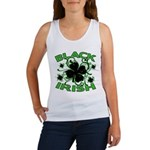Black Shamrocks Black Irish Women's Tank Top