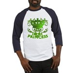 Crown and Scroll Irish Princess Baseball Jersey