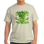 Crown and Scroll Irish Princess Light T-Shirt
