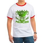 Crown and Scroll Irish Princess Ringer T