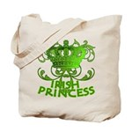Crown and Scroll Irish Princess Tote Bag