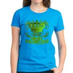 Crown and Scroll Irish Princess Women's Dark T-Shi