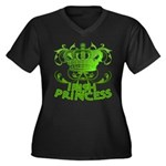 Crown and Scroll Irish Princess Women's Plus Size